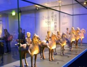 Экспозиция реликвий династии Хань