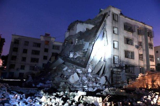 взрыв бомбы в посылке в Китае