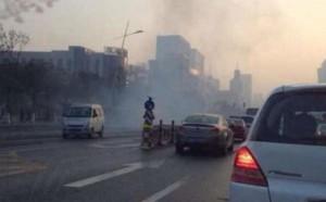 взрыв на севере Китая